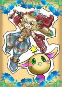 聖剣伝説LOM 主人公とラビ!
