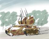 IV号対空戦車ヴィルベルヴィント