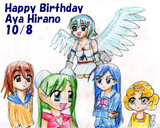HappyBirthday・AyaHirano・10/8