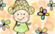 お花のなかにいるお(*´∀`*)