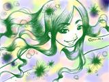 【描いてみた】天使の歌声。弾き語り生主 丘咲アンナ【うあばぁ】