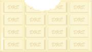 ドリクリ特製ホワイトチョコ