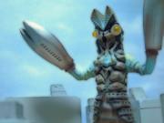 【イラスト加工】宇宙忍者 バルタン星人