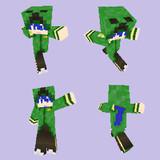 Minecraft KAITOクリーパーカー