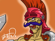 ドラクエ4のライアンを描きました。