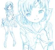 【ラフ】セーラームーン「水野亜美〜マーキュリー〜」