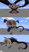 Minecraftで巨大シャルロッテ