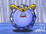 ドラクエ7のスライムエンペラーを描きました。
