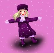 雪のお姫様