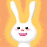 ありがとウサギ♥