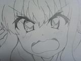 ゼロの使い魔 ルイズを描いてみた