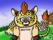 ドラクエ5のベビーパンサー描きました!