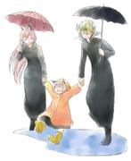 戦勇/雨の日
