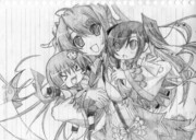 恋姫蜀の三人娘