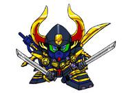 武者ガンダムMK-ⅡをSD化