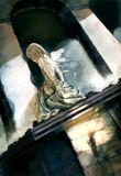屋根の上の天使