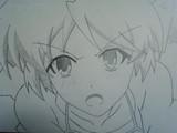 バカとテストと召喚獣 島田美波を描いてみた