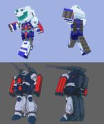 【Minecraft】 「ガンタンクR-44」 【スキン】