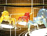 電脳空間で仕事中のタチコマ