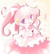 ピンクの魔女っ娘