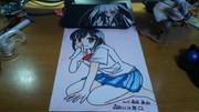 友達に描いてといわれて描いてみたw 森田 真由