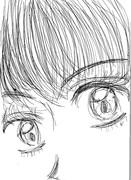 iphoneで描いたよ