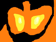 かぼちゃと陰影