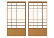 【背景素材191】障子1