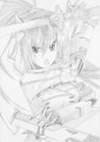 インフィニット・ストラトス(I・S) より 篠ノ之箒 を描いてみた
