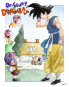 Dr.SLUMP × DRAGONBALL