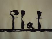 「flat」