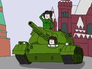 【落書き】T-74戦車