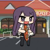 WORKING'!!タンバリンで踊る山田葵GIFアニメ