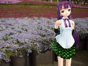 【MikuMikuDanc】5月の公園【紫苑ヨワ】