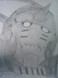鋼の錬金術師 アルフォンス・エルリックを描いてみた