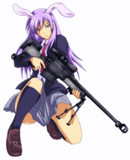 セーラー服(←ちげぇーよ!)と狙撃銃