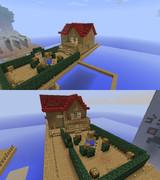 シルバニア 浮遊の島のお家