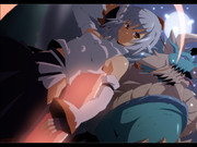 白狼天狗vs雷狼竜