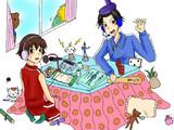 太子と妹子のニコ生日和【法隆ぢ】で使用していた画像