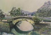 冬色の不老橋