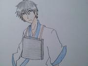 ギャグマンガ日和の曽良くんをよりイケメンに描いてみた