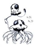 ポケモン646匹えんぴつでラフに描いてみようシリーズww