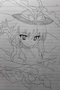 【模写】美しき緋の衣