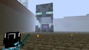 【Minecraft】エンダーマン型ネザーポータル
