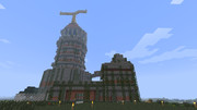 DQⅧのリーザス塔作った