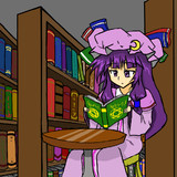 少女読書中・・・。