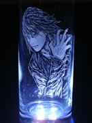【ZETMAN】ジン手彫りグラス