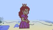 【Minecraft】 USA風ピーチ姫 ドット絵
