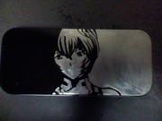 カンペンに綾波レイを彫ってみた