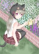 ほら、お花咲いたんだよ^ω^
